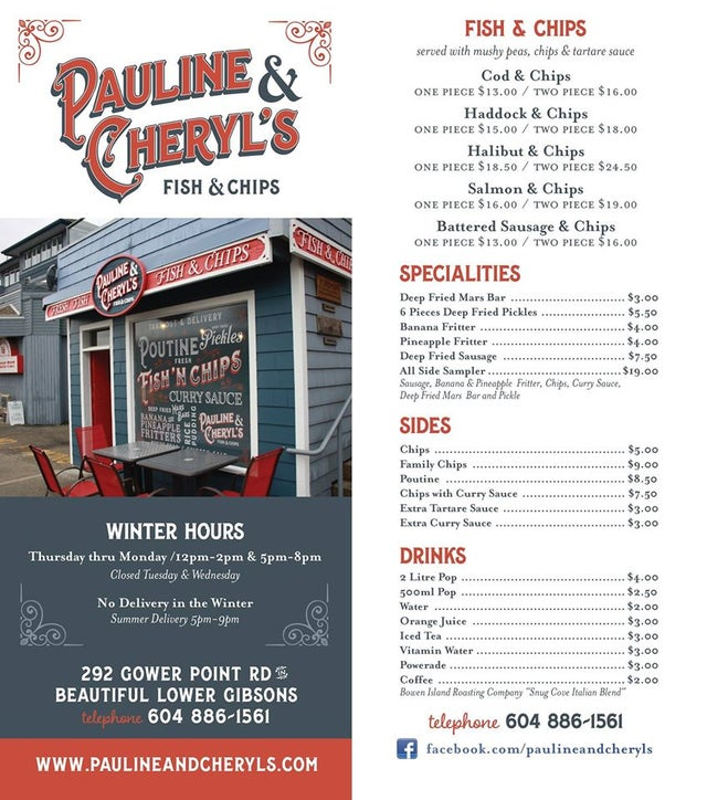 Pauline & Cheryls Fish and Chips - Gibsons & Area COMM for sale(C8015820) #2